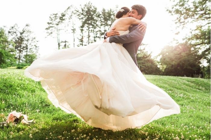 сватба в природата